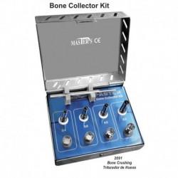 Kit de compresión de hueso de elevación de seno (completo) 9 uds.