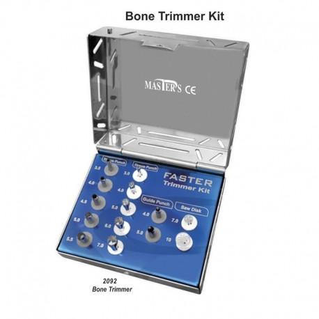 Kit cortador de huesos (completo) 14 uds